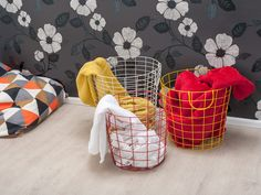 Make a statement by mixing or matching various colours of Wire Baskets together.