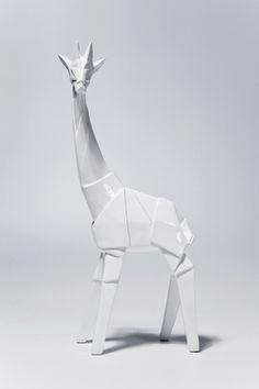 KARE - origami giraffe figurine