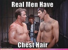 As a girl with a man who has chest hair? Yes. ^_^