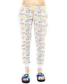 OMG!!!!! Check out what I found on Shop Jeen.com!!! What do you think?!?! EMOJI SWEATPANTS