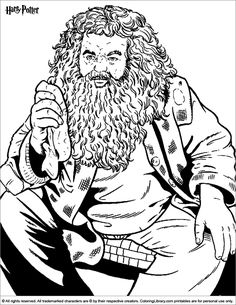 Harry Potter coloring page Coloring Pages Harry Potter