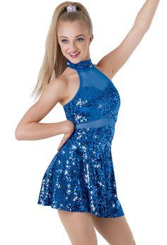 Weissman® | Mesh Inset Sequin Dress