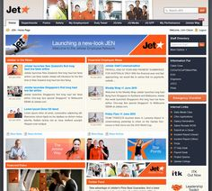 Jet intranet on Intranet Dashboard