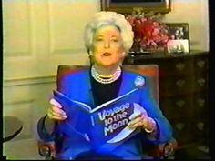 Barbara Bush reading commercial - YouTube