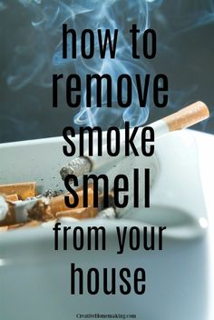 How to remove smoke smell from your house quickly and effectively. How to get smoke smell out of carpet and furniture. Deep Cleaning Tips, House Cleaning Tips, Cleaning Hacks, Organizing Tips, Cleaning Solutions, Cleaning Products, Organization, House Smell Good, House Smells