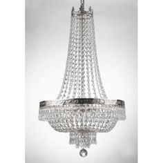 Harrison Lane French Empire Crystal T40-462 Chandelier - T40-462
