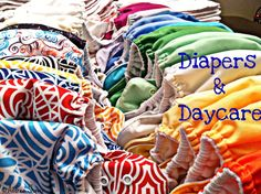 #clothdiapers and daycare post with list of things to consider.
