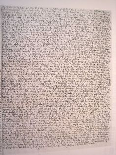 A Robert Walser microscript page. Asemic writing