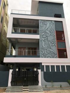 House Outer Design, House Front Design, Small House Design, Modern House Design, Home Design, 3 Storey House Design, Bungalow House Design, House Elevation, Front Elevation Designs