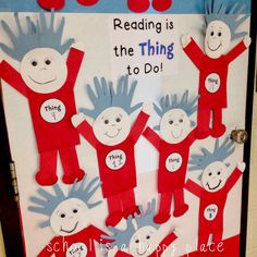 School Is a Happy Place: Five for Friday: Read Across America Rewind (Plus a Free Writing Craftivity)