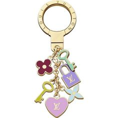 Louis Vuitton Key Rings Pretty Charms Key Holder M66145 Bxn,$115
