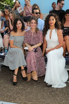 Camila Alves Photos Photos - (L-R) Actress Jenna Dewan Tatum, actress Rachel Bilson and model, designer Camila Alves attend Target Cat & Jack Launch Celebration at Pier 6 at Brooklyn Bridge Park on July 21, 2016 in Brooklyn Borough of New York City. - Target Cat & Jack Launch Celebration