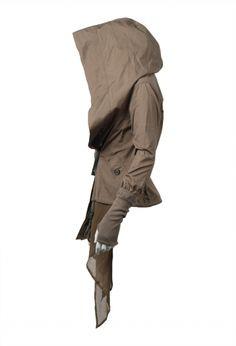 Nicholas K jacket. ♥ the big hood!
