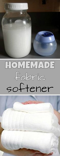 Homemade fabric softener - Cleaning Tips