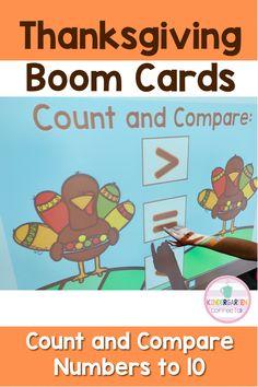 Thanksgiving Activities For Kindergarten, Kindergarten Blogs, Deck Of Cards, Card Deck, Equals Sign, Comparing Numbers, Teacher Organization, Small Groups, Classroom Management