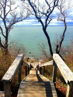 Horton's Lighthouse ....steps to the beach...North Fork, Long Island 2014