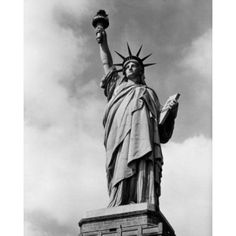 Low angle view of a statue Statue of Liberty New York City New York State USA Canvas Art - (24 x 36)