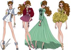 Disney Fashion Frenzy - Belle Set By: Daren J