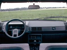 Citroen BX interieur