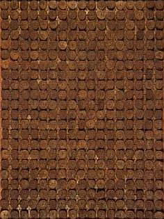Farfalhante 1967 | Aluísio Carvão chapas de metal, pregos e óleo sobre madeira 90.00 x 70.00 cm Coleção Gilberto Chateaubriand - MAM RJ