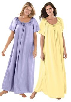 e180ee50f2 Only Necessities Plus Size 2-Pack Nightgown Good Night Baby