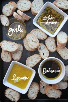 Some great tips on creating an Antipasti Platter by shutterbean - particularly like the idea of different dipping oils