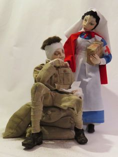 SFM Cloth Dolls With Attitude!  WW1 Commemoration Dolls