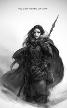 Ygritte, Sungryun Park on ArtStation.