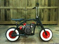 "mini bikes ""small motorcycles"" at DuckDuckGo Moto Bike, Motorcycle Bike, Mini Motorbike, Small Motorcycles, Diy Go Kart, Mini Chopper, Custom Bikes, Custom Mini Bike, Motorised Bike"