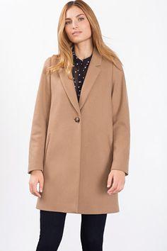 Esprit / Manteau blazer en laine mélangée