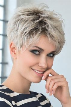 Boy Cut Short Pixie Cut Human Hair Full Lace Wigs - You are in the right place about diy face mask sewing pattern Here we offer you the most beautiful - Short Grey Hair, Short Hair With Layers, Short Blonde, Short Hair Plus Size, Short Hair Cuts For Women Over 50, Short Hair Older Women, Short Pixie Haircuts, Short Hairstyles For Women, Wig Hairstyles