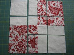 Just a little something to perk up my table this month. A disappearing FOUR patch. I DID want something red and white this month. I didn't ...