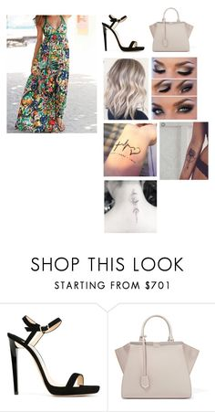 """""""Untitled #1235"""" by alexlovsesfashion ❤ liked on Polyvore featuring Jimmy Choo and Fendi"""