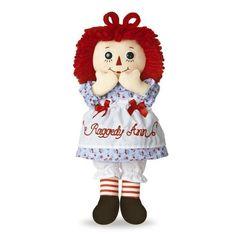 12 Aurora Plush Raggedy Ann Classic Rag Doll Soft Stuffed Animal Toy   eBay