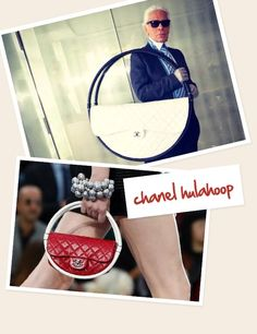 #chanel hulahoop bag