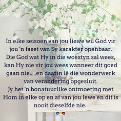 Afrikaans, Ministry, Prayers, Faith, Messages, God, Motivation, Quotes, Dios