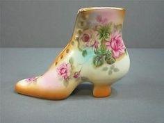 R.S. Prussia Porcelain Shoe