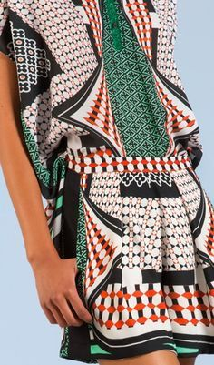 See the World Through Pattern and Colour, RESORT 2014 Clover Canyon.