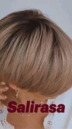 Pixie Haircut For Thick Hair, Haircuts For Fine Hair, Cute Hairstyles For Short Hair, Pixie Hairstyles, Older Women Hairstyles, Thick Hair Pixie, Short Pixie, Thin Hair, Very Short Hair