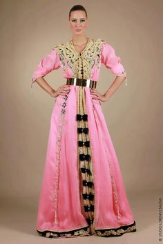 couture caftan | Haute couture Caftan Rose