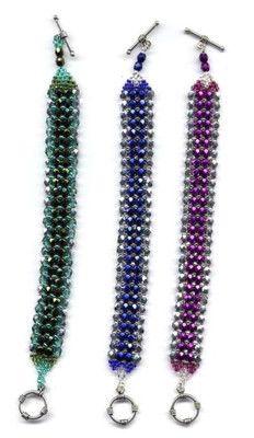Elegant Bracelet Beading Patterns and Kits