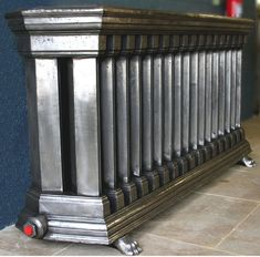 tall black radiator victorian - Google Search