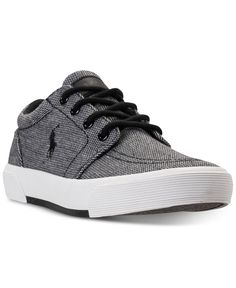 new style 7ba9a a6074 Polo Ralph Lauren Little Boys  Faxon II Casual Sneakers from Finish Line    Reviews - Finish Line Athletic Shoes - Kids - Macy s