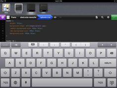 Diet Coda | iPad coding app | Werkt als een droom