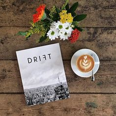 """@coffeetablemags's photo: """"Good morning Thursday! Hello Drift Magazine – Volume 2: Tokyo. The second issue with stories about Tokyo, its coffee, and the people who drink it, is finally in our store. We sold already more than half of our stock, so be fast, if want a copy! #driftmag #coffeetablemags #tokyo"""""""