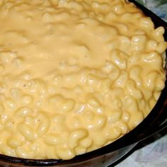 Creamy Macaroni and Cheese Allrecipes.com, easily converted to gluten free!