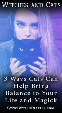 We're all used to seeing the stereotypical witch with a black cat, but why are witches and cats intrinsically linked? In this Magickal Musings article, we'll discuss just three of many ways that having a cat for an animal familiar (or even just as a pet) can help bring balance to your life and spiritual practice by serving as a link to our wild nature! Enjoy!