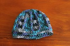 Ridges and Ravines Prem Beanie ~ free pattern.  This would make a good cap to donate to the local NICU unit.