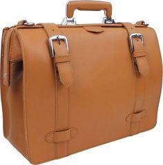 Vagabond Traveler Classic Full Grain Leather Business Pro Case Brown - via eBags.com!