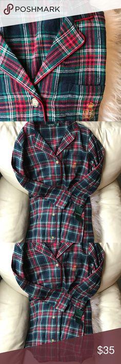 Ralph Lauren Plaid Pajama Dress Brand new with tags . Great colors . Comfortable fit . Good brand. Button up Lauren Ralph Lauren Intimates & Sleepwear Pajamas